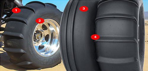 Dune Paddle Tires